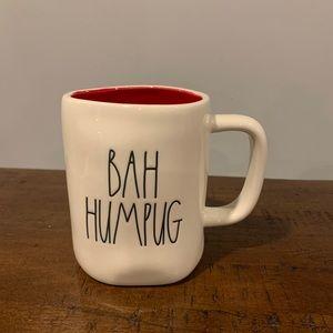 Rae Dunn BAH HUMPUG Christmas Mug